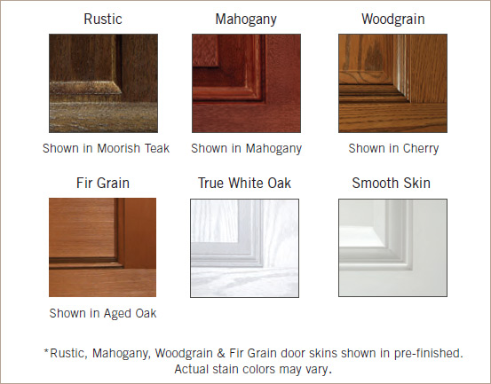 Door Skin Options