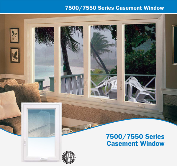 7500/7550 Series Casement Window